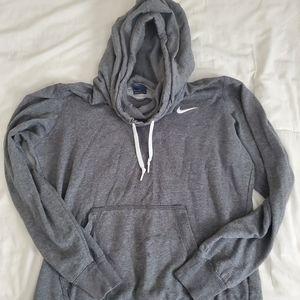 Nike gray hoodie sweater